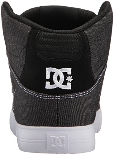 Dc Heren Pure High-top Wc Tx Le Skate Schoen Zwart / Wit / Wit