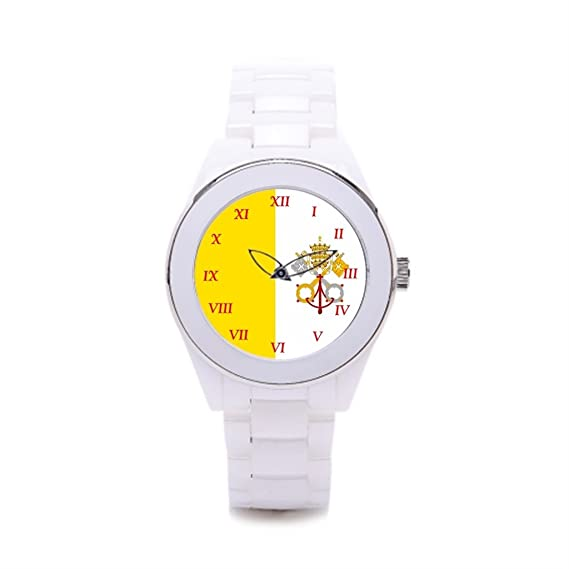 Queensland barato Relojes de cerámica para sacerdotes vestido relojes renacimiento: Amazon.es: Relojes