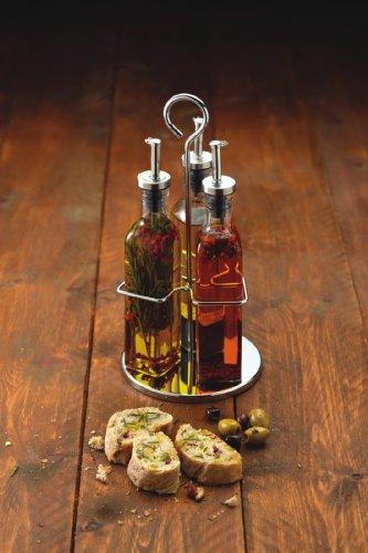 Kitchen-Craft-Vinagreras-de-cristal-en-estuche-regalo