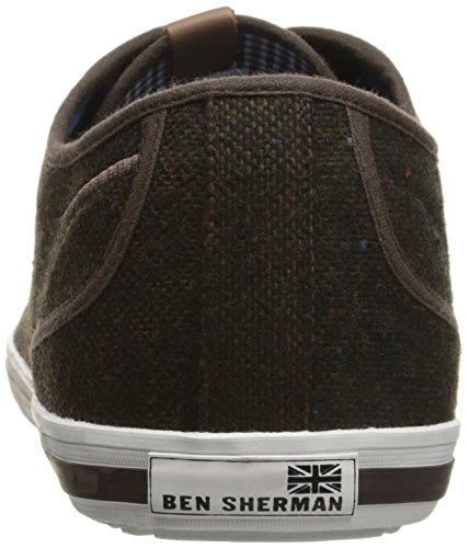 Ben Sherman Heren Chandler Lo Fashion Sneaker Bruin