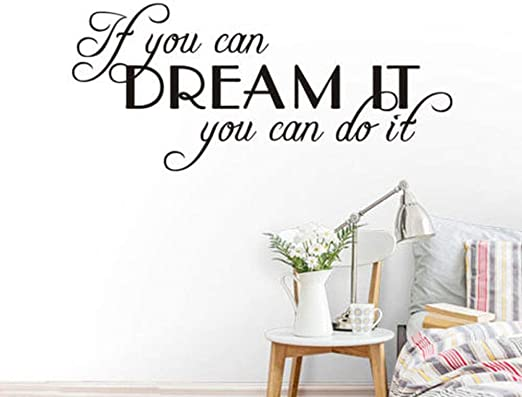 A HOME IS MADE OF LOVE /& DREAMS Wall Art Sticker Decal quote Decals /& Stickers