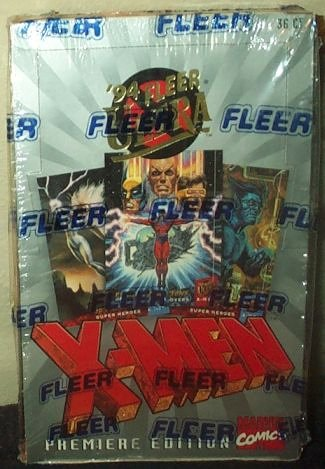 1994 Fleer Ultra X-Men Trading Cards Box Premiere Edition -36 Count from Marvel