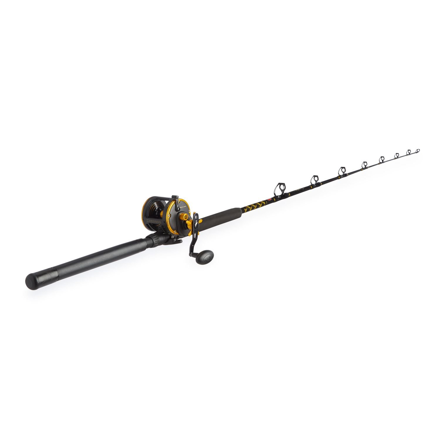 Penn Squall 30 Level Wind Fishing Rod and Trolling Reel Combo, 6.5 Feet by Penn