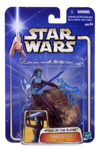 Star Wars Episode II Attack of the Clones Figure Aayla Secura