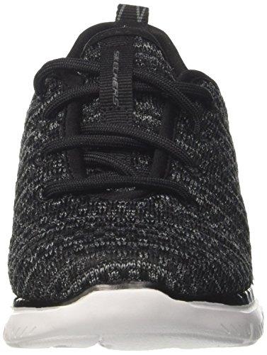 Skechers Jungen Flex Advantage 2.0-Cravy Sneaker Schwarz (Black/Grey)