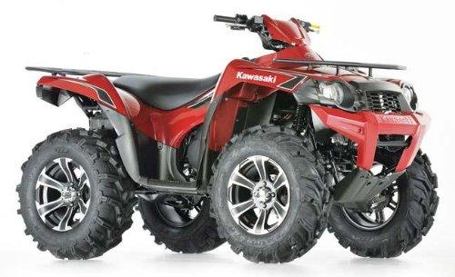ITP Mud Lite XTR, SS312, Tire/Wheel Kit - 27x9Rx14 - Matte Black/Machined 44281L