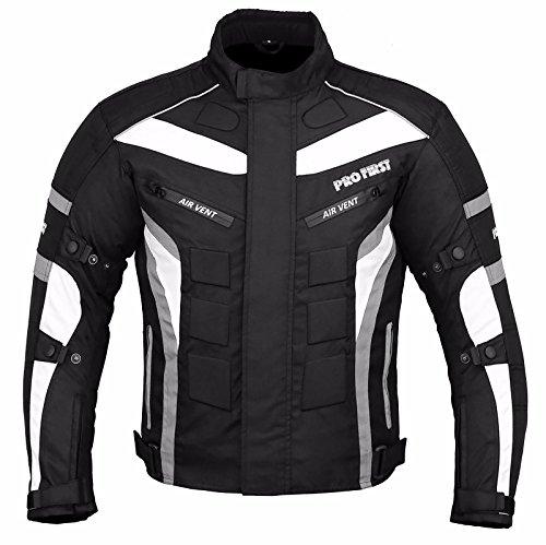 JKT-007 | Waterproof Motorbike Motorcycle Jacket in Cordura Fabric and CE...