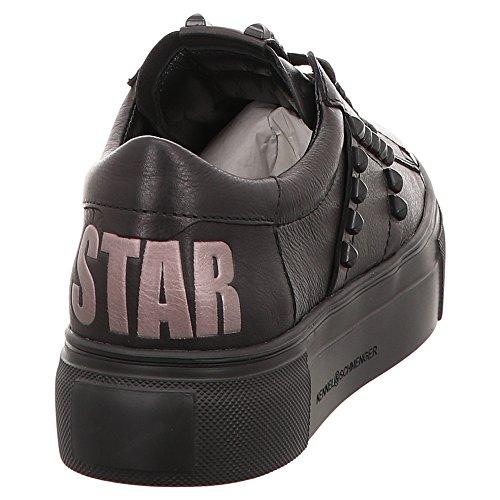 Noir pour Noir Baskets Schmenger Noir 8122070420 Kennel Femme amp; WaqBAwn4
