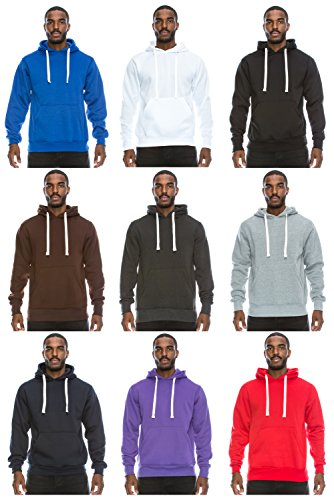 JC DISTRO Mens Hipster Hip Hop Basic Sweatshirts Pullover Hoodie Jacket (Upto 6XL Plus)