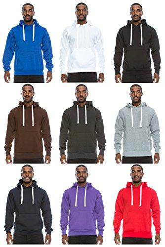 JC DISTRO Mens Hipster Hip Hop Basic Sweatshirts Pullover Hoodie Jacket (upto 6XL Plus)