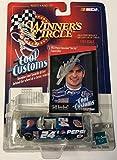 1998 Dale Earnhardt Sr & Jeff Gordon Dual Signed 1/64 Pepsi Bel Air Diecast Car - Autographed Diecast Cars