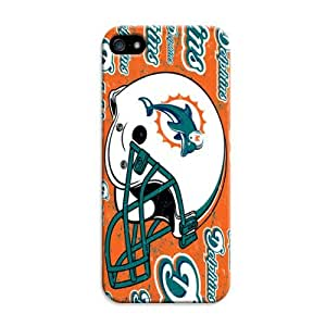 2015 CustomizedIphone 6 Plus Protective Case,3D Sport PC Football Iphone 6 Plus Case/Miami Dolphins Designed Iphone 6 Plus Hard Case/Nfl Hard Case Cover Skin for Iphone 6 Plus