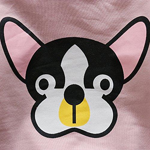 Wongfon Garçons Filles T Shirt Mignon Chiot Imprimer Pull
