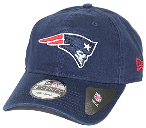 New Era Men's New England Patriots 9TWENTY Core Navy -