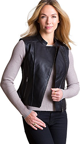 Black Moto Vest - 8