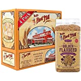 Bob's Red Mill Raw Whole Brown Flaxseeds, 24 Ounce (Pack of 4)