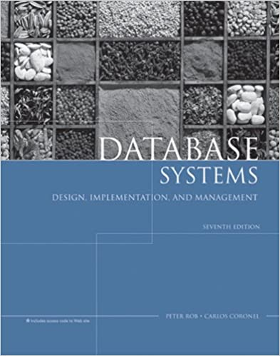 Amazon Com Database Systems Design Implementation And Management 9781418835934 Rob Peter Coronel Carlos Books