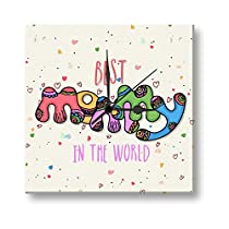 Giftsmate Mothers Day Gifts Best Mummy in the World Wall Cl
