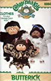 Butterick 6984 Sewing Pattern Cabbage Patch Kids Coats by Butterick