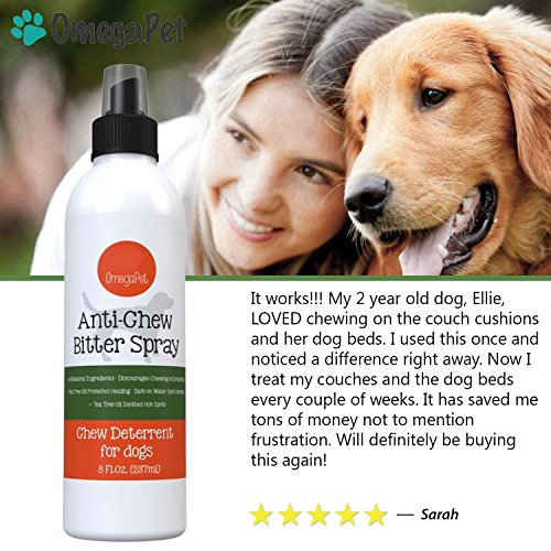 Omegapet Bitter Apple Spray For Dogs No Chew Spray For