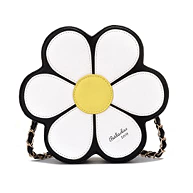 Amazon.com: joyci Mujer Noble púrpura flor Handy Billetera ...