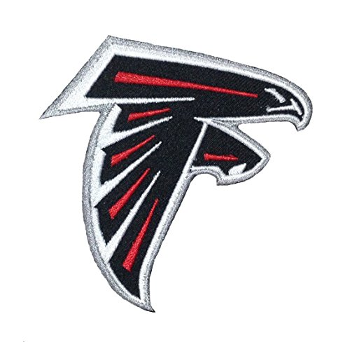 - FOOTBALL Atlanta Falcons Iron-on/Sew-on Embroidered PATCH