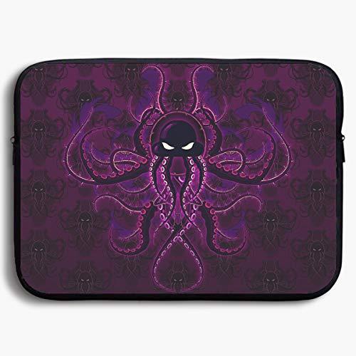 Mr.Roadman Laptop Sleeve Bag Digital Art Octopus Illustration Briefcase Sleeve Bags Cover Notebook Case Waterproof Computer Portable ()