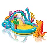 "Intex Dinoland Inflatable Play Center, 31"" X 90"" X 44"", for Ages 3+"