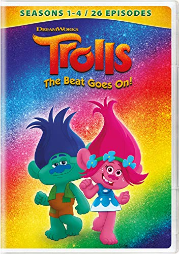 Beat Dvd - Trolls: The Beat Goes On! - Seasons 1 - 4