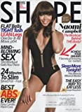 Shape 2014 April - Naomi Campbell + 9 More Pages Inside Magazine