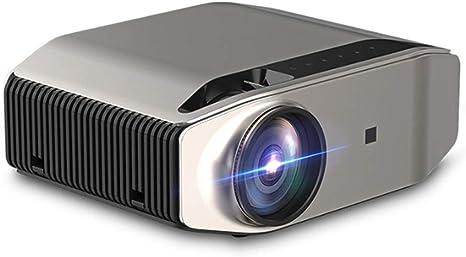 Opinión sobre QK Mini Proyector Multimedia Vídeo Proyector LCD, Proyector de Cine en casa,± 15 °Keystone Correction