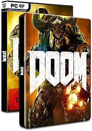 Doom - 100% Uncut - Day One Edition Inkl. Steelbook [Importación ...