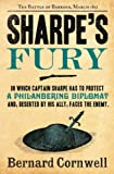Front cover for the book Sharpe's Fury by Bernard Cornwell