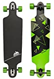 D Street Unisex Longboard D Street Drop Through TRI DST-COM-4000 39'x10' Green