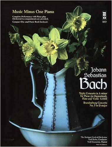 J.S. Bach Triple Concerto In A Minor For Piano