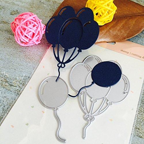 - Shoresu Balloon Metal Cutting Dies Carban Steel Stencil DIY Scrapbook Paper Craft Card Album Embossing Stencils Template Punch 6.7cmx7.7cm/2.64