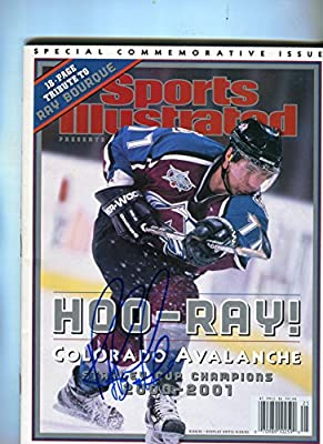 * RAY BOURQUE * Colorado Avalanche 2001 Stanley Cup Sports Illustrated