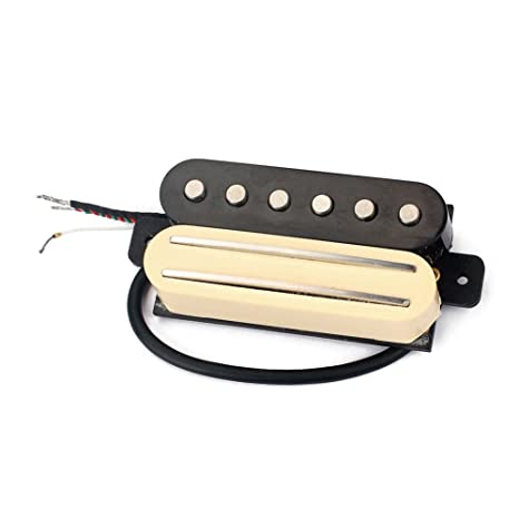 winnereco doble pastillas de guitarra, Guitarra eléctrica pastilla de doble carril puente Humbucker Pickup Single