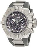 Invicta Men's 1390 Subaqua Noma IV Chronograph Grey Dial Grey Silicone Watch, Watch Central