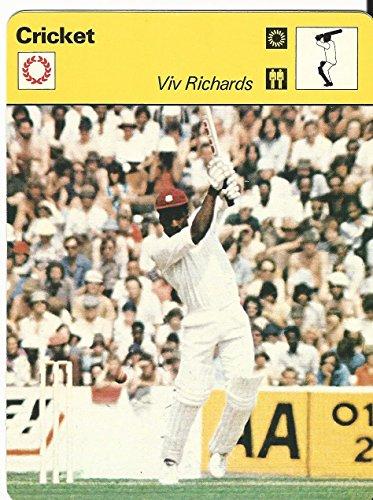 1977-79 Sportscaster Card, 08.04 Cricket, Viv Richards, Antigua (Best Of Viv Richards)