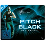 Pitch Black - Planet der Finsternis - Limited Quersteelbook [Blu-ray] [Alemania]