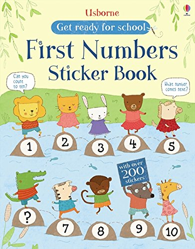 Price comparison product image First Numbers Sticker Book (Get Ready for School Sticker Books)