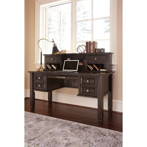 Signature Design by Ashley H636-48 Townser Home Office Desk Hutch
