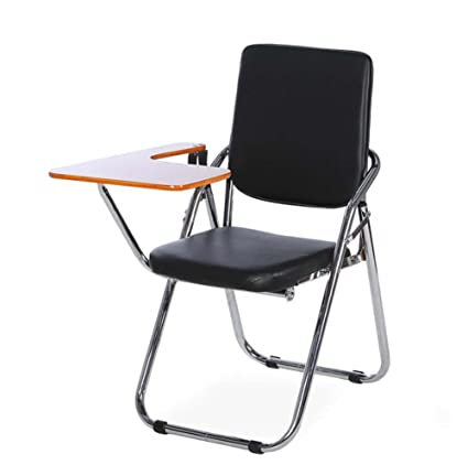 Amazon.com : Onfly Folding Backrest Chair With Desk Board Padded ...
