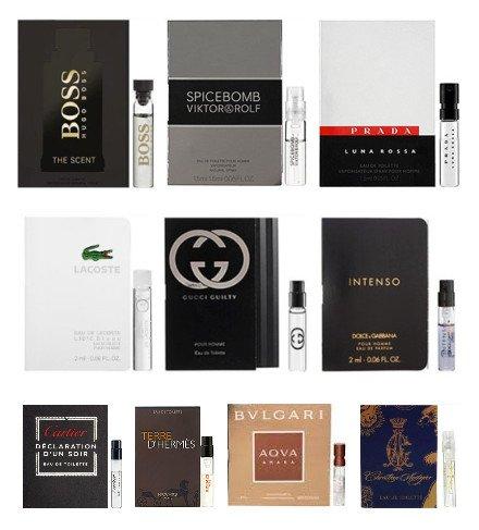Amazon.com : 11 Men's Designer Cologne Sample Vials : Beauty