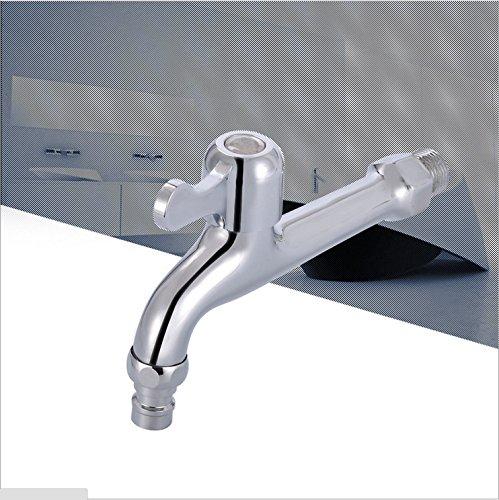 Único llave de agua fría Lavadora llave de la watertap alargado aleación de zinc