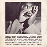 Sonny Terry - Harmonica and Vocal Solos