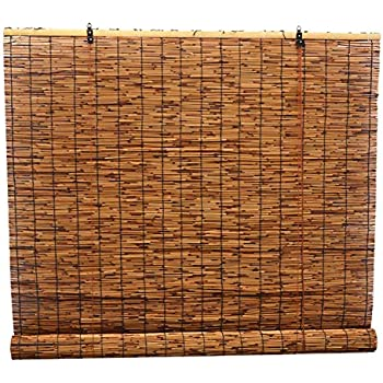 Amazon Com Chaxia Roller Blind Bamboo Shade Retro Reed