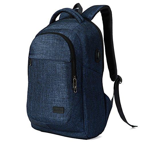 Travel Outdoor Computer Backpack Laptop bag 15.6''(blue) - 9
