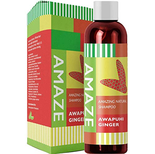 (Moisturizing Shampoo for Dry Damaged Hair and Scalp with Awapuhi Wild Ginger Extract and Keratin Hair Treatment to Repair Hair Sulfate Free Anti-Frizz Natural Hair Care For Soft Shiny Beautiful Hair)